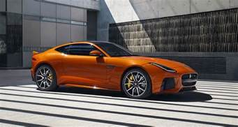 Jaguar F Type New Svr 575 Hp F Type Is The Fastest Jaguar For 2017