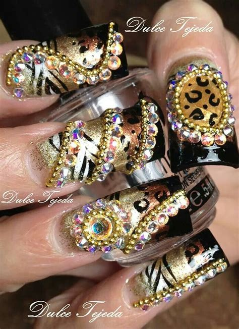 imagenes de uñas acrilicas atigradas 25 trending sinaloa nails ideas on pinterest bling nail