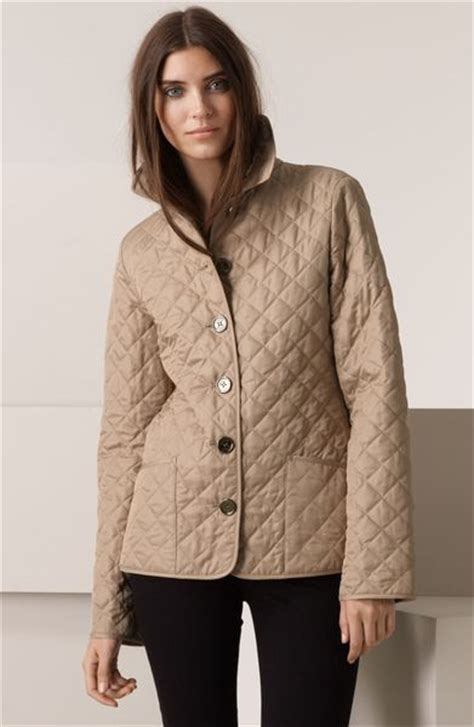 Burberry Quilt Jacket by Burberry Brit Quilted Jacket In Beige New Chino