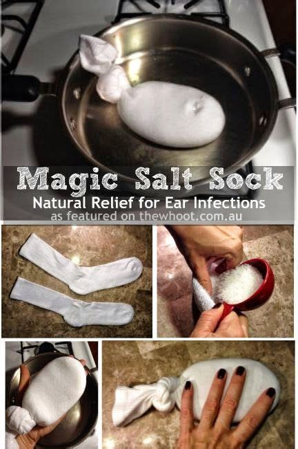 salt sock natural relief for ear infections abundant health helping kids grow up the magic salt sock natural relief