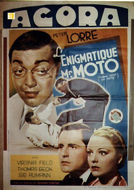 film enigmatique quot enigmatique mr moto le quot movie poster quot think fast mr