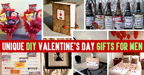 valentines day ideas for guys 35 unique diy s day gifts for