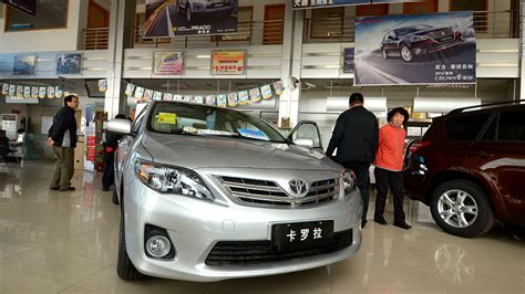 Toyota Market In China Toyota Fends Gm And Vw In Global Sales Race Jan 23