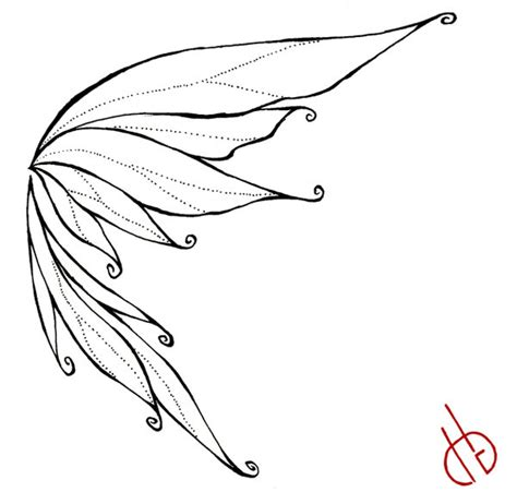 fairy wings drawing on pinterest fairy drawings fairy