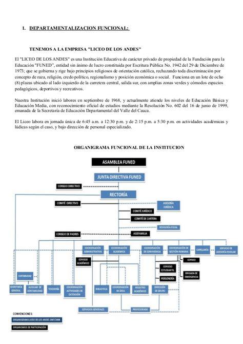 cadena de valor latam departamentalizacion tradicional y moderna
