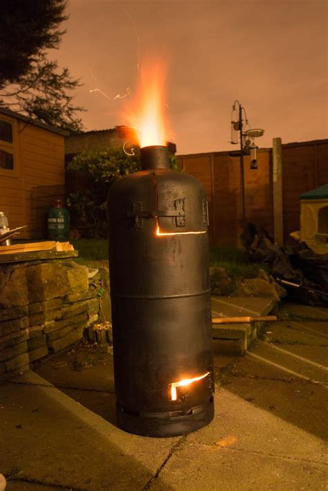 Patio Heater Gas Bottle Recycled Gas Cylinder Stove Patio Heater 6 Braai Bbq Potjie Oven Smoker