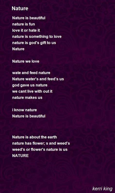 best environment poems poems poets poetry resources nature poem by kerri king poem hunter