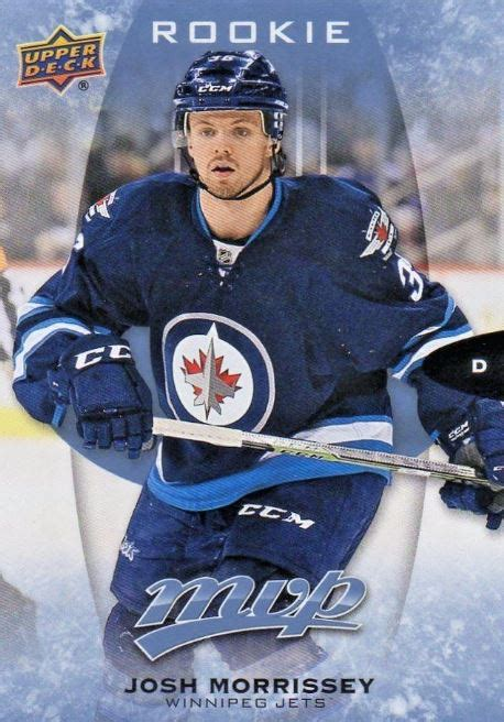 Jets Gift Card - future watch josh morrissey rookie hockey cards jets