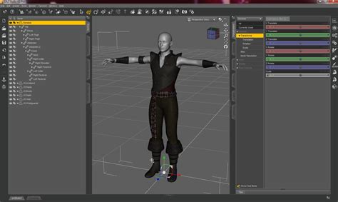 Room Layout Tools graphical user interface of daz studio 4 pro briefly explained