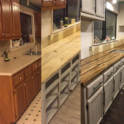 diy  countertops follow   instagram  biscuitsandbricks cheap    lumber  lo