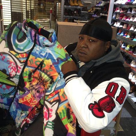 jadakiss   protocol clothing graffiti bubble jacket