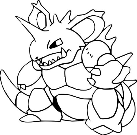 pokemon coloring pages rhyperior colouring pages info pineapple free alphabet s coloring