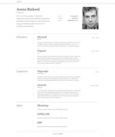 10 free professional html and css cv resume templates