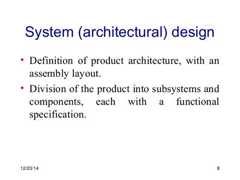 design justification definition 2 development processes and organizations