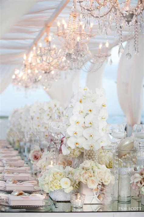 wedding reception decoration tables the