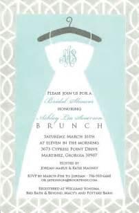 wording for brunch invitation brunch invitations brunch and bridal shower on