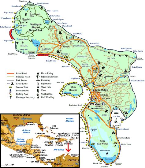 bonaire map information about bonaire caribbean tour caribbean islands caribbean hotels caribbean