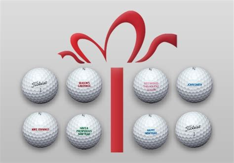 free personalization on all titleist golf balls promotion