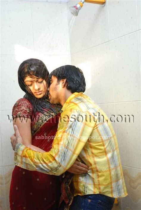 bathroom scene hot nayanthara hot sexy bath room scene lip kiss boobs nipple navel unseen rare photos