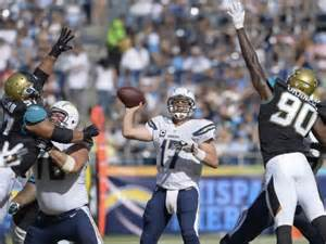 Chargers Jaguars Blackout Philip Rivers Nominated For Fedex Air Player Of The Week