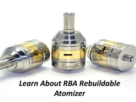 Dome Rba Rebuildable Atomizer learn about rba rebuildable atomizer by 252vapors issuu