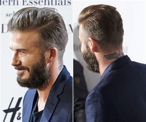short side part hair styles 360 view metamorfozy david beckham mr