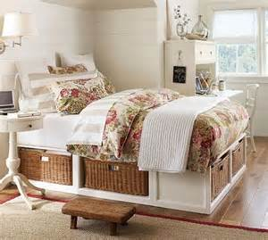 Bed Frame With Basket Storage Creative Bed Storage Ideas For Bedroom Hative
