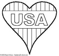 patriotic heart coloring page realistic american flag coloring page kids colouring