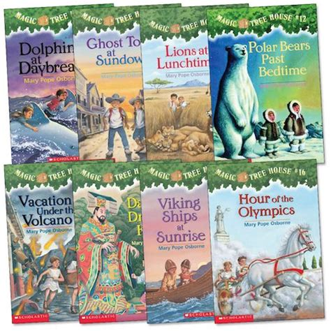 Magic Tree House Author by Magic Tree House Pack Scholastic Club