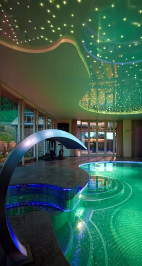 amazing indoor pools 34 stunning swimming pool lighting designs home designs