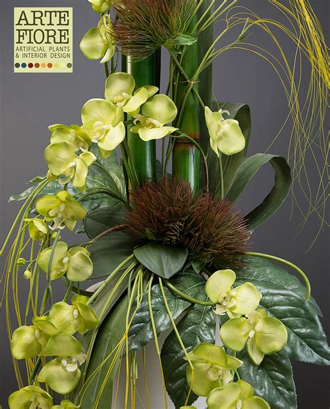 composizioni floreali con fiori finti composizioni fiori finti orchidee yt82 187 regardsdefemmes