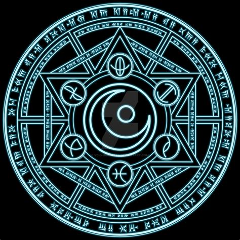 Magic Circle magic circle lunaria astris by void immortal on deviantart