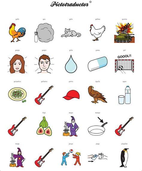 imagenes de palabras bisilabas palabras con el fonema g buscar con google fonema g