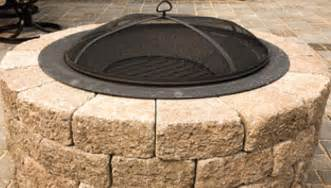 How To Build A Firepit With Pavers Build A Patio Block Pit