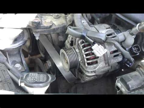 Toyota Yaris Starter Location How To Replace Alternator On 2000 2010 Toyota Corolla