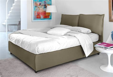 divano cuscinoni letto matrimoniale con vano contenitore e cuscinoni