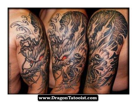 japanese dragon tattoo upper arm japanese dragon tattoo upper arm 02 http