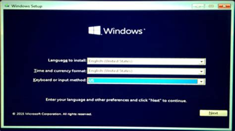 windows 10 usb installation tutorial with screenshots how to install windows 10 from usb screenshot tutorial