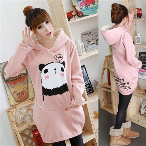 sweater panda pink by z shop dolly dynamite panda hoodie store powered by