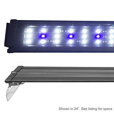 48 inch led fish tank light beamswork ex 0 10w series led aquarium light freshwater