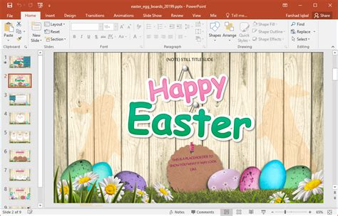 easter templates free animated easter powerpoint template