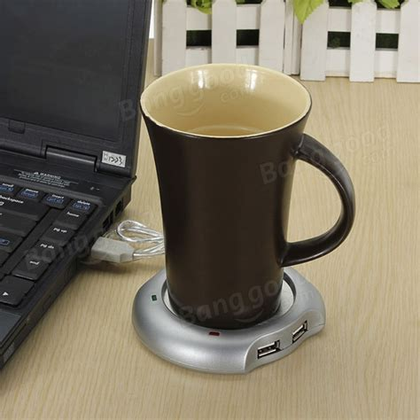 Usb Coffee Warmer 4 usb hub coffee tea beverage cup mug warmer heater us 3 59