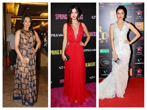 bollywood actress maxi dress how to look trendy in summers of 2017 let us publish