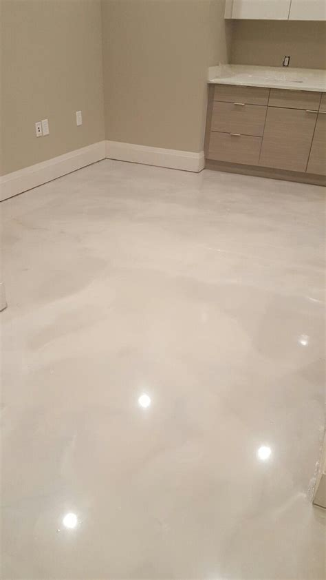 Charcoal Pearl epoxy floors. Epoxy flooring installed by
