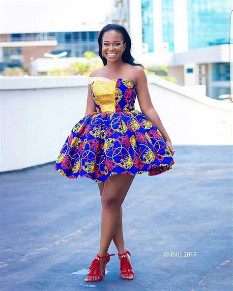 short ankara gowns here are the sweetest 2017 short ankara gowns