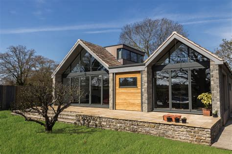 house design ideas exterior uk copperlea saltford uk contemporary exterior south
