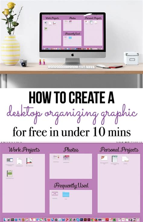 Desk That With You organize your computer desktop i planners