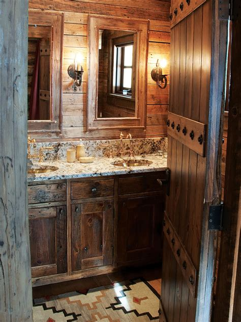 25 rustic bathroom vanities to make your bathroom look