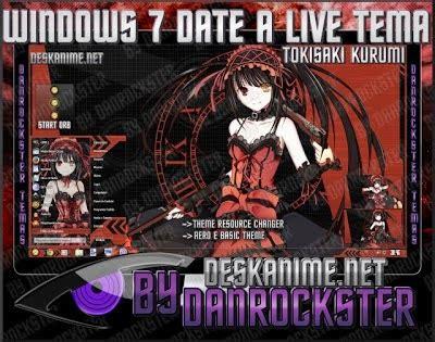 theme google chrome date a live tema date a live windows 7 ineedtoblog anime gallery