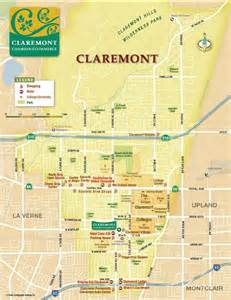 map of claremont california claremont chamber of commerce claremont chamber business